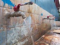 Torneira de água Fotografia de Stock Royalty Free