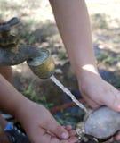 Torneira de água corrente Foto de Stock