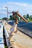 Torneira de água no moinho de açúcar Fotografia de Stock