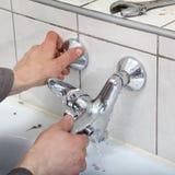 Torneira de água Fotos de Stock Royalty Free