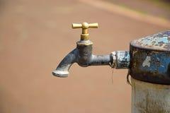 Torneira de água Fotografia de Stock