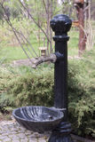 Torneira de água decorativa Foto de Stock