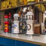 Torneira do beeer do parque de diversões de Ronde do La Foto de Stock Royalty Free