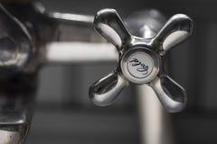 Torneira fria do banho Fotos de Stock