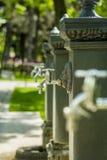 Torneiras de água Fotos de Stock Royalty Free