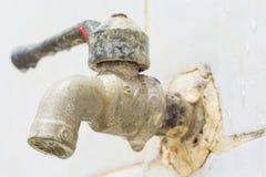 Torneiras de água velhas Imagens de Stock Royalty Free
