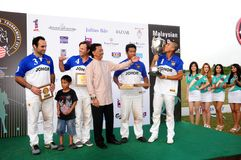 Torneo aperto 2011 di polo del Malaysian Immagine Stock Libera da Diritti