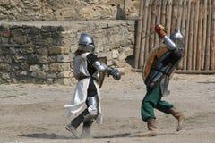 torneo de #2.Knight. imágenes de archivo libres de regalías