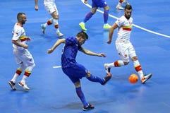 Torneo 2018 de calificación del euro de la UEFA Futsal en Kyiv Fotos de archivo