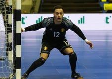 Torneo 2018 de calificación del euro de la UEFA Futsal en Kyiv Foto de archivo libre de regalías