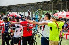 Torneo 2015 de la graduación del Taza-mundo de Asia Foto de archivo libre de regalías
