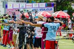 Torneo 2015 de la graduación del Taza-mundo de Asia Fotografía de archivo