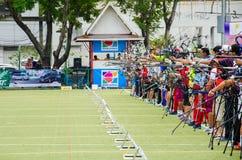Torneo 2015 de la graduación del Taza-mundo de Asia Fotografía de archivo libre de regalías