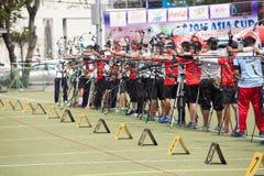 Torneo 2015 de la graduación del Taza-mundo de Asia Fotos de archivo