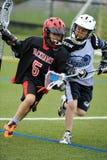 Torneo de LaCrosse de los muchachos Foto de archivo