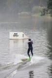 Torneo de Wakeboard Fotografía de archivo libre de regalías