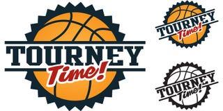 Torneo del baloncesto Imagen de archivo libre de regalías