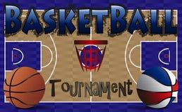 Torneo del baloncesto Fotos de archivo libres de regalías
