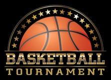 Torneo del baloncesto Fotografía de archivo libre de regalías