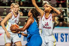 Torneo del baloncesto de las muchachas, Foto de archivo