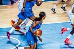 Torneo del baloncesto de las muchachas; Foto de archivo
