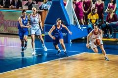 Torneo del baloncesto de las muchachas; Imagenes de archivo
