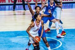 Torneo del baloncesto de las muchachas; Imagen de archivo
