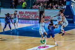 Torneo del baloncesto de las muchachas; Fotografía de archivo
