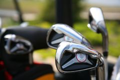 Torneo del golf - sistema del golf Foto de archivo libre de regalías