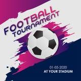 Torneo 2018 del gruppo di calcio della coppa del Mondo ENV 10 fotografie stock libere da diritti