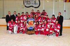 Torneo del hockey de los muchachos de la juventud Imágenes de archivo libres de regalías