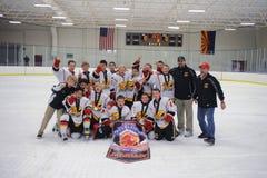 Torneo del hockey de los muchachos de la juventud Foto de archivo