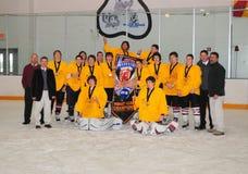 Torneo del hockey de los muchachos de la juventud Imagen de archivo