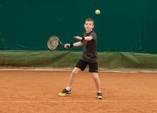 Torneo del niño del tenis Foto de archivo libre de regalías