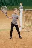 Torneo del niño del tenis Imagen de archivo