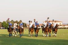 Torneo del polo Imagen de archivo libre de regalías