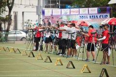 Torneo 2015 del posto del Tazza-mondo dell'Asia Immagine Stock
