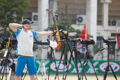 Torneo 2015 del posto del Tazza-mondo dell'Asia Fotografie Stock Libere da Diritti