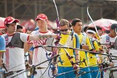 Torneo 2015 del posto del Tazza-mondo dell'Asia Fotografia Stock Libera da Diritti