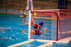 Torneo del ` s de las mujeres del water polo Imagen de archivo
