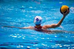 Torneo del ` s de las mujeres del water polo Fotografía de archivo