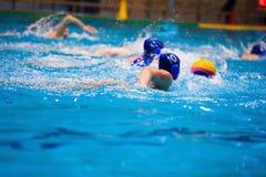 Torneo del ` s de las mujeres del water polo Fotos de archivo