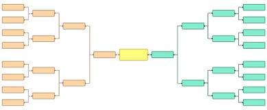 Torneo 16 del soporte Imagen de archivo