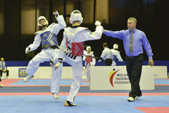 Torneo del wtf del Taekwondo imagenes de archivo