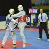 Torneo del wtf del Taekwondo fotografía de archivo