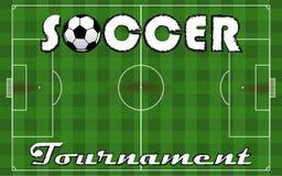 Torneo di calcio Fotografia Stock