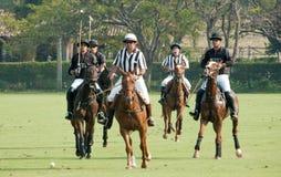 Torneo di polo nel Brasile Fotografie Stock Libere da Diritti
