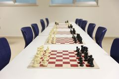 Torneo di scacchi immagini stock libere da diritti