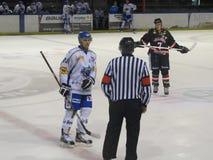 Torneo internacional del hockey sobre hielo en Lyon Imágenes de archivo libres de regalías
