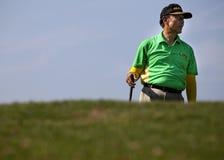 Torneo nacional del golf de la universidad de Jakarta Fotografía de archivo
